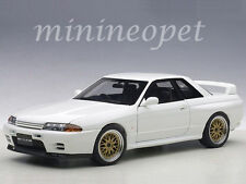 AUTOart 77416 NISSAN SKYLINE GT-R R32 V-SPEC II TUNED VERSION 1/18 CRYSTAL WHITE