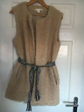 H&M Gilet With Pockets And Belt Size Medium