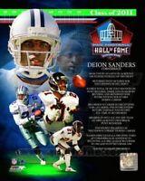 "Deion Sanders Dallas Cowboys NFL Hall of Fame Legends Photo (8"" x 10"")"