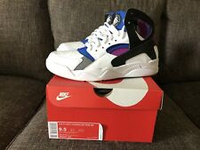 399c6384ba8c7e Nike Air Flight PRM QS Size 9.5 US White Black Purple Blue