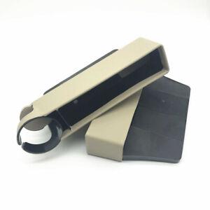 1Pc Car Driver/Copilot Seat Crevice Storage Box Gap Filler Universal Accessories