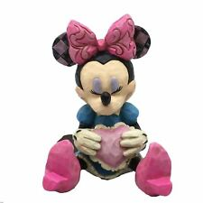 Disney Traditions Minnie Mouse Valentines Heart Figurine Jim Shore Ornament Gift