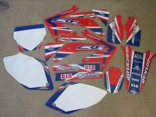 TEAM HONDA WORLD GRAPHICS & BACKGROUNDS CRF450 CRF450R 2005 2006 2007 2008