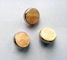 Trumpet Valve Finger Buttons Repair Parts Set of 3