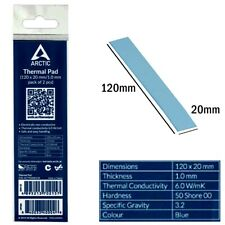 Arctic Thermal Pad 120*20mm 1.0mm High Performance 6.0 W/mk Conductivity - Blue