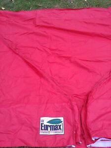 Eurmax 10x20 replacement canopy top Red used once