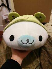 New San-x Mamegoma Seal Frog Costume Big Plush