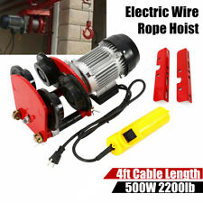 Electric Rope Hoists for sale | eBay