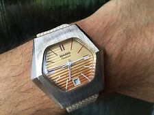 1970s Unusual Case Basis Firebird Very Funky Mens Watch