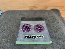 Hope Jockey Wheels - 12T - Purple -