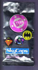 1993 Skybox DC Skycaps Pogs Milkcaps Pack