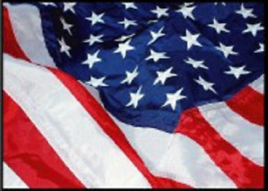 Flag 6x10 Embroidered Sewn USA Strong Bright Bold Colors - New US Day Glow Color
