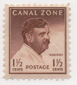 1948 U.S. Possession Canal Zone 1 1/2 Cent Magoon Scott 137 MH Fine