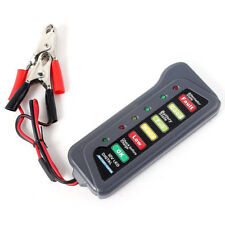 Alternador Auto Moto Batería Digital Tester de carga 6 Pantalla LED 12 V vehículo