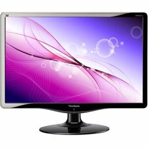 "Desktop Computer 24"" LCD Monitor Widescreen VGA DVI Full HD 1080p 5MS 75 Hz 16:9"