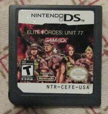 Nintendo DS - Elite Forces : Unit 77 (Cart only)