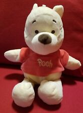 """Disney Baby Winnie The Pooh 12"""" Plush Toy With Rattle Inside"""