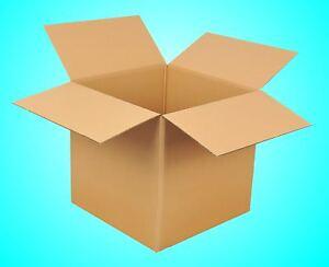 20St.600x600x600 Karton 2-wellig BC Faltkartons Versandkarton 60x60x60 Paket NEU