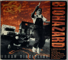 Biohazard - Urban Discipline (CD, 1993) Limited Collector's Edition Near Mint!