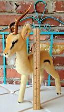 1962-63 Yuku - The Elegant Largest Vintage Steiff Mohair Pronghorn Antelope!