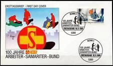 BRD 1988: Arbeiter-Samariter-Bund! FDC Nr. 1394 mit Bonner Sonderstempeln! 1602