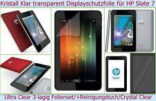 2 x Kristall Klar Display Schutz Folie HP Slate 7 Tablet Ultra Clear transparent