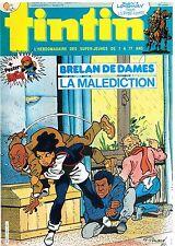 B19- Tintin N°493 Brelan de Dames,Buddy Longway+Poster Hugo