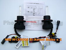 2 x HID H13 9008 Bi Xenon Hi high Lo Low bulb light beam 4300K 12V 35W