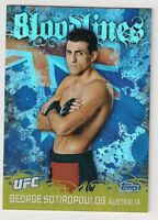 2010 TOPPS UFC BLOOD LINES GEORGE SOTIROPOULOS