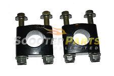Handle Bar Clamps For Electric Mini SSR ATV Quad ABT E350 4 Wheelers 350 Watts