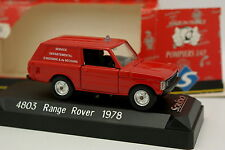 Solido 1/43 - Range Rover 1978 Firefighters SDIS