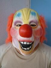 Shawn Crahan RED WIG CLOWN NORMAL MASK Slipknot halloween party facemask