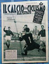 Il calcio e il ciclismo illustrato 1957  N°13 Genoa-Spal-Lanerossi        23/6