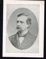 General James A. Weaver, Ohio/Iowa- Antique Portrait Print 1896