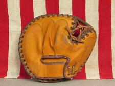 Vintage 1950s Reach Leather Baseball Glove Catchers Mitt Champion 2455 Nice!