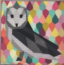 The Barn Owl - English paper piecing quilt PATTERN - Violet Craft