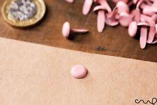 100 x Pasadores de licitación Rosa Papel Sujetadores divide vinculante Oficina Artesanía 13 mm de largo