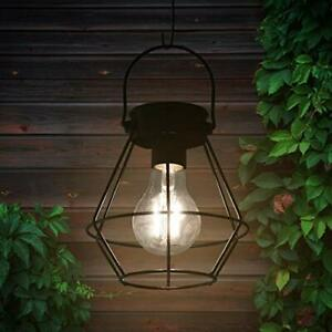 """Solar Lanterns Outdoor Hanging 6.1"""" Small Design with Upgrade Waterproof Warm..."""