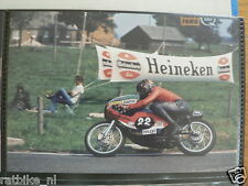 S0913-JOS SCHURGERS BRIDGESTONE 125 CC RAALTE 1974 NO 22 PHOTO COLOR MOTO HEUGA