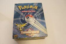 Pokemon Thunderstorm Gift Box Sealed Mint RARE