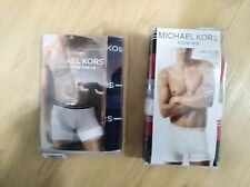 MENS 3PK MICHAEL KORS ULTIMATE COTTON STRETCH or ESSENTIALS BOXER BRIEF $42 Pick