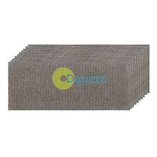 Mesh Sanding Sheets 115 X 280mm 4 X 40G, 4 X 80G & 2 X 120 Grit 10Pk