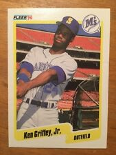 1990 Fleer Ken Griffey Jr #513 Seattle Mariners Baseball Card