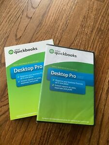 4-Pack of Intuit Quickbooks Pro 2017 Desktop Small Business Accounting (NIB)