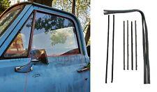 Door Glass Run Channel Weatherstrip Window Seal Kit 67-72 Chevy Truck