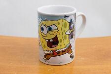 Spongebob Squarepants & Patrick Coffee Cup Mug 2007 Snowball Fight