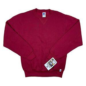 Vintage RUSSELL ATHLETIC sweatshirt crewneck 80's 90s long sleeve blank - S