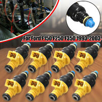 8 x OEM NEW Fuel Injectors For Ford F150 F250 F350 5.0 5.8 4.6 5.4 #0280150718
