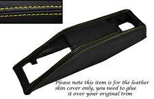 YELLOW STITCHING SEAT BELT BINNACLE SKIN COVER FITS TRIUMPH STAG MK1 MK2 70-77