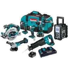 Makita Power Tool Combo Kit Cordless 18 Volt 50ah Li Ion Brushless 7 Piece